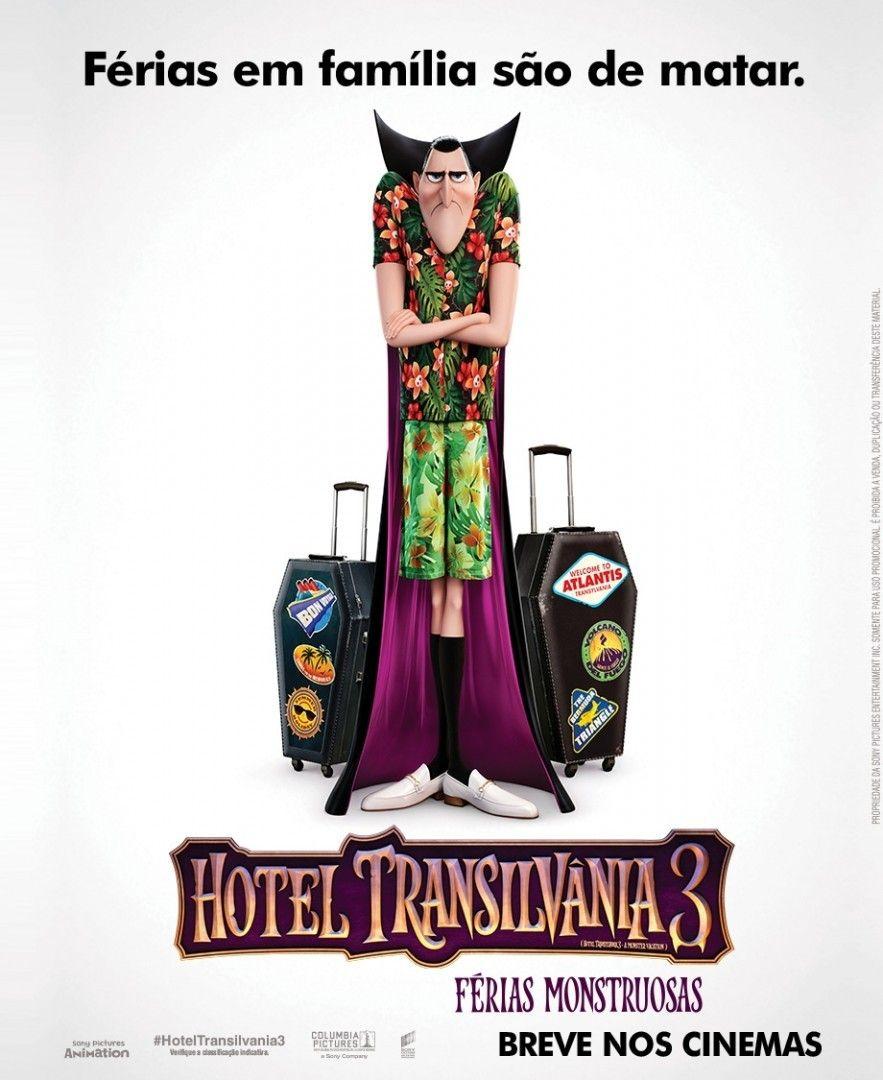 Hotel Transilvania  Ganha Novo Trailer Pamela Auto