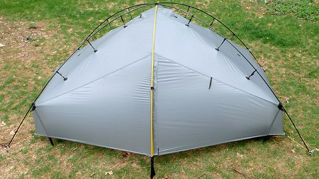 Single arch setup with dual side entrances and vestibules. | C&ing-tent/bivy/hammock | Pinterest | Tents Ultralight tent and Backpack tent & BUY THIS TENT!! Single arch setup with dual side entrances and ...