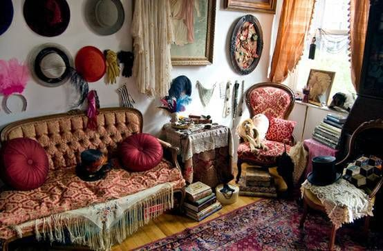 French Bohemian Decor Interior Design Blog Cheap Chic Decorating