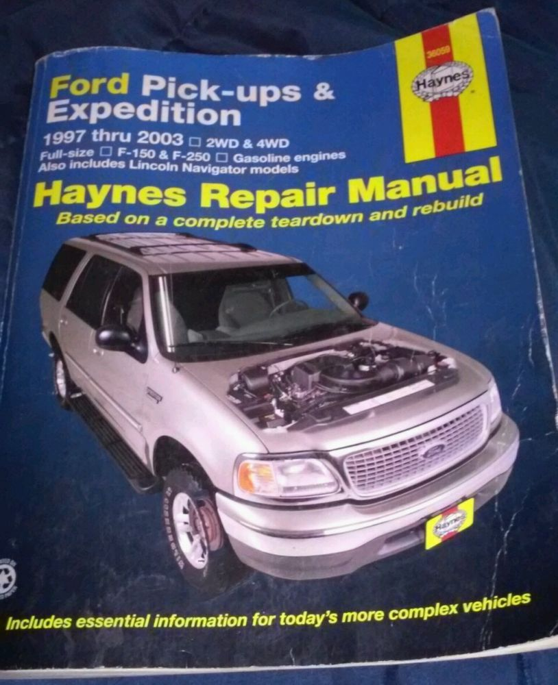 Haynes Repair Manual 36059 - Ford Pick-ups 1997-2003 & Expedition 1997-2009  #HaynesPublications