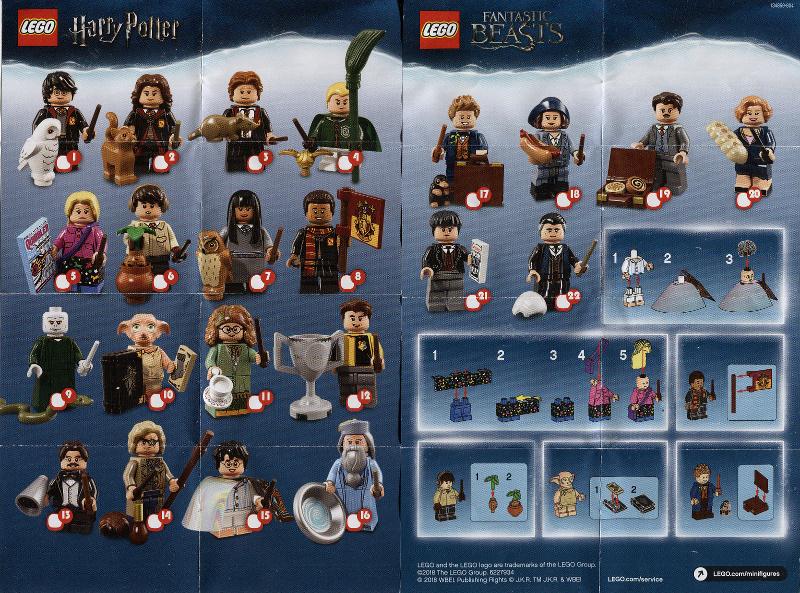 Bricklink Set 71022 1 Lego Minifigure Harry Potter Fantastic Beasts 1 Ran Lego Harry Potter Minifigures Lego Harry Potter Harry Potter Fantastic Beasts