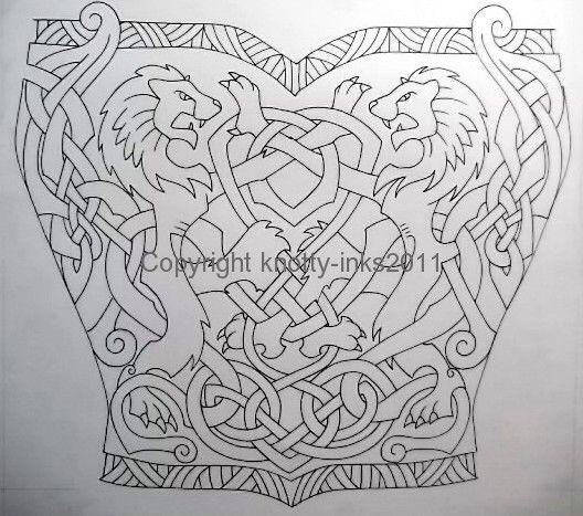 f6b884e61891b Celtic Lions tattoo design1 by Tattoo-Design on DeviantArt ...