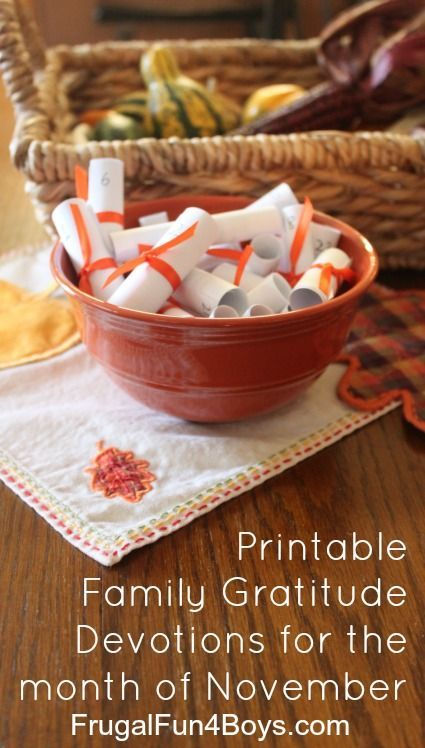 This is a picture of Magic Printable Thanksgiving Devotions