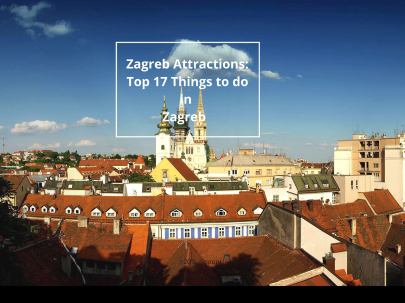 Zagreb Attractions Top 17 Things Do In Zagreb Croatia Places In Europe Places To Visit Croatia