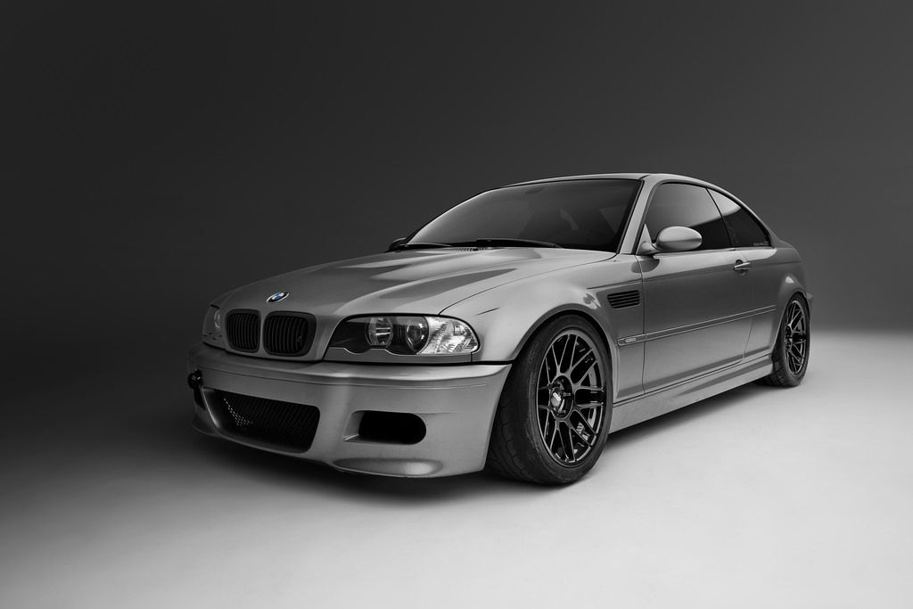 COUPE//CONVERTIBLE NEW GLOSS BLACK BLACK FENDER GILLS FOR 01-06 E46 BMW E46 M3