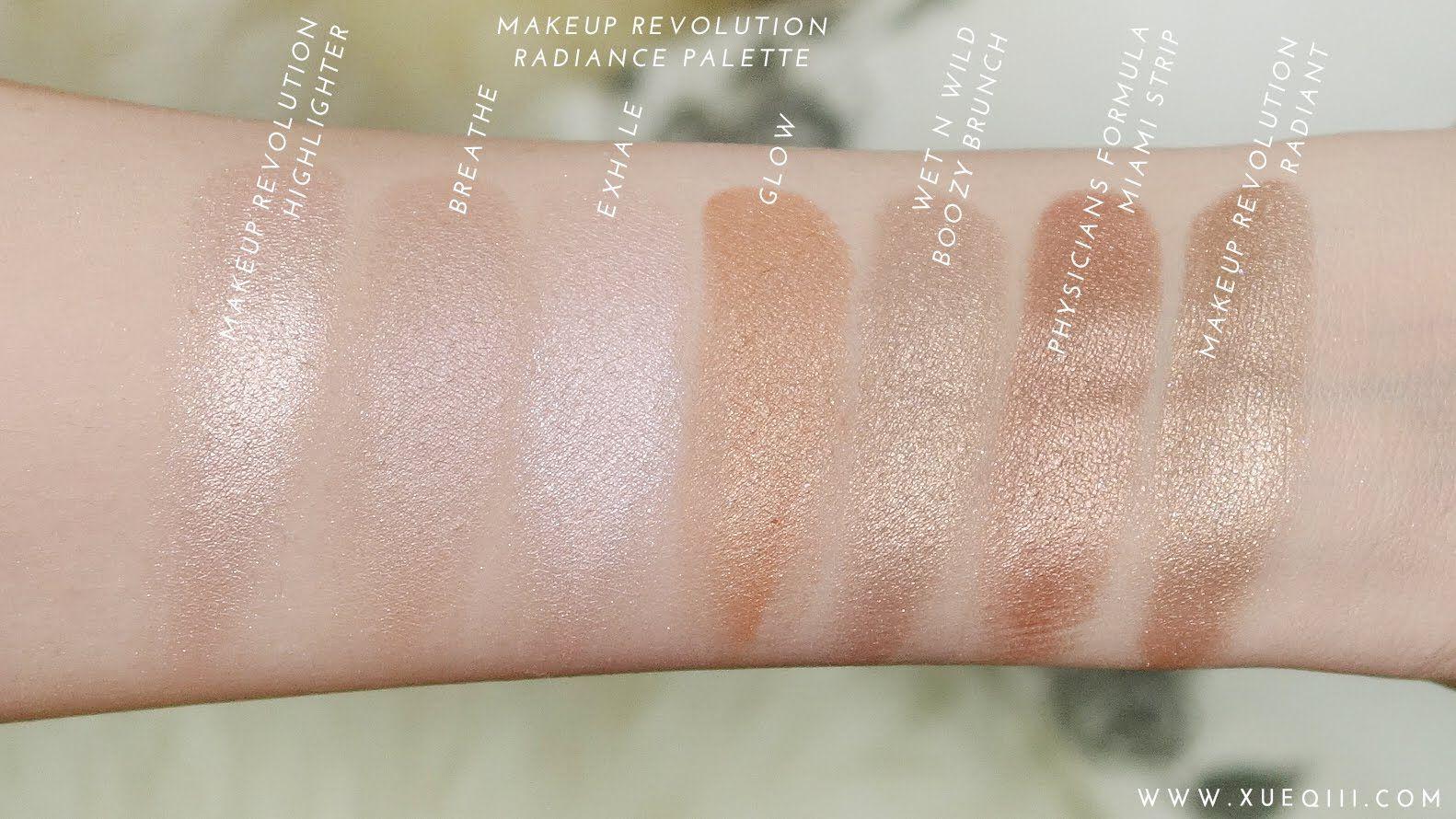 Drugstore / Affordable Highlighters Makeup Revolution