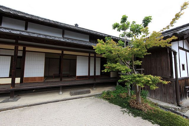 Traditionelle Japanische Häuser japanese traditional style samurai house 丸毛家屋敷 まるもけ や