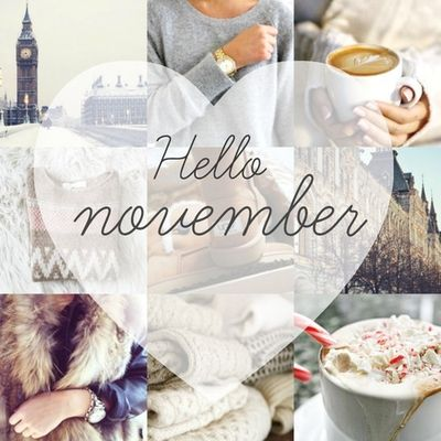 Hello November discovered by LauraElian on We Heart It
