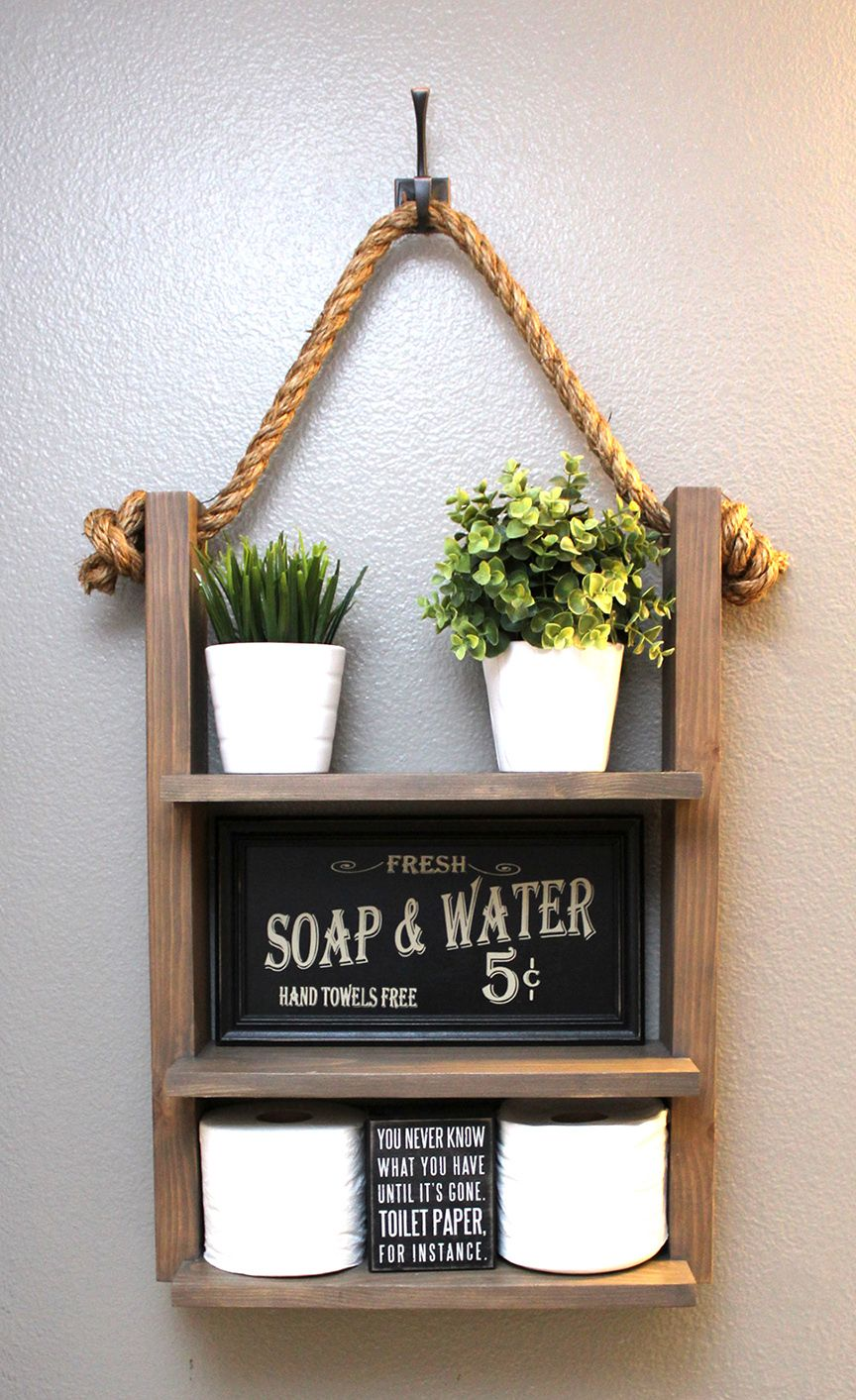 44018efe0f83d328889f63b06ab326da - Download Small Bathroom Farmhouse Bathroom Shelf Decor Pictures