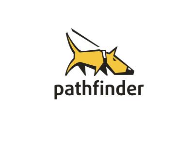 Pathfinder Dog Logo Design Dog Logo Dog Design