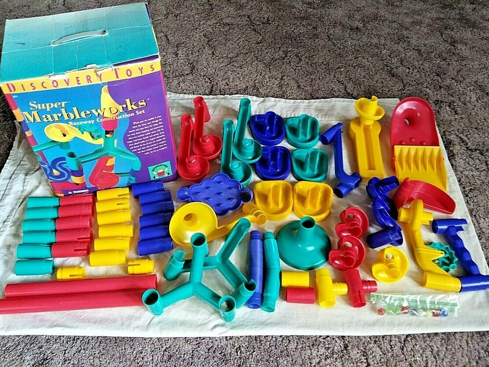 Discovery Toys Super Marbleworks Raceway Construction Set