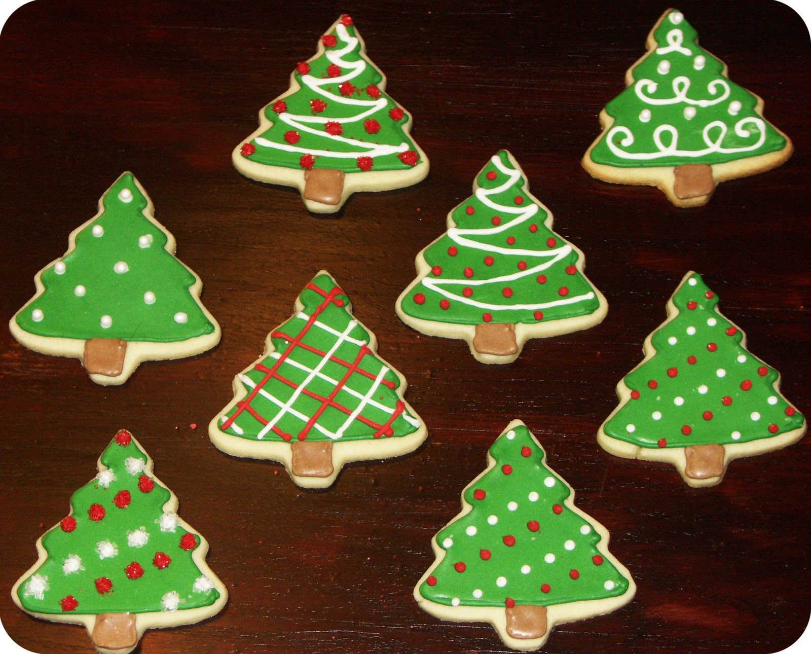 Decorating Ideas For Christmas Tree Cookies : Emma s trend fashion and style christmas cookie