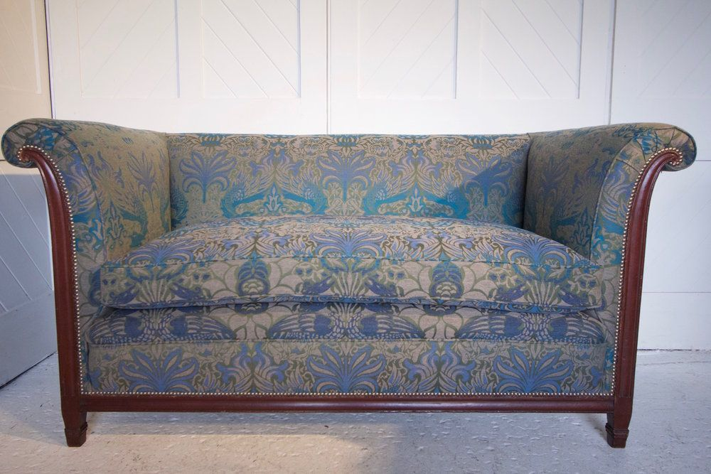 ARTS & CRAFTS MAHOGANY SETTEE — Patch Rogers in 2020