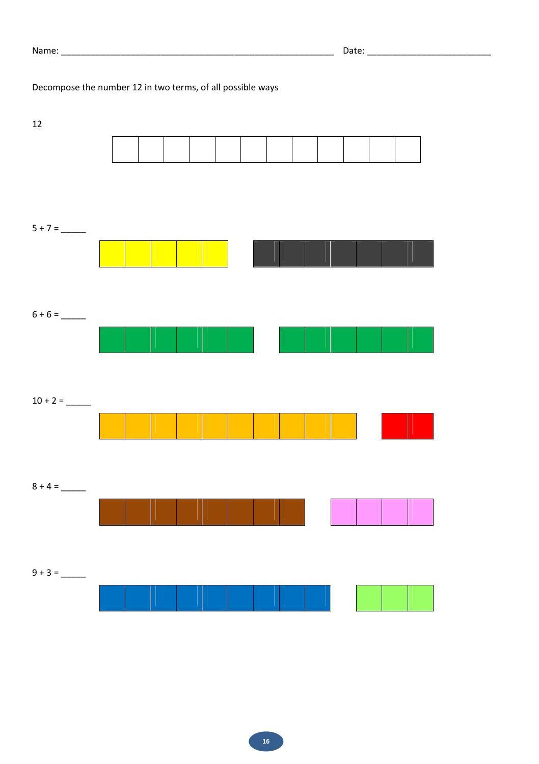 Maths with rods | Cuisenaire rods | Pinterest | Math and Montessori