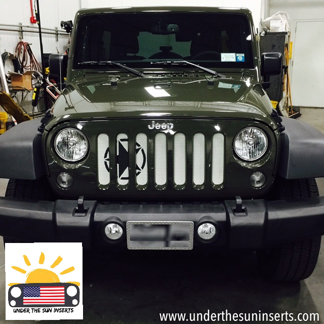 This Grill Insert Will Make Your Jeep Stand Out, No Doubt