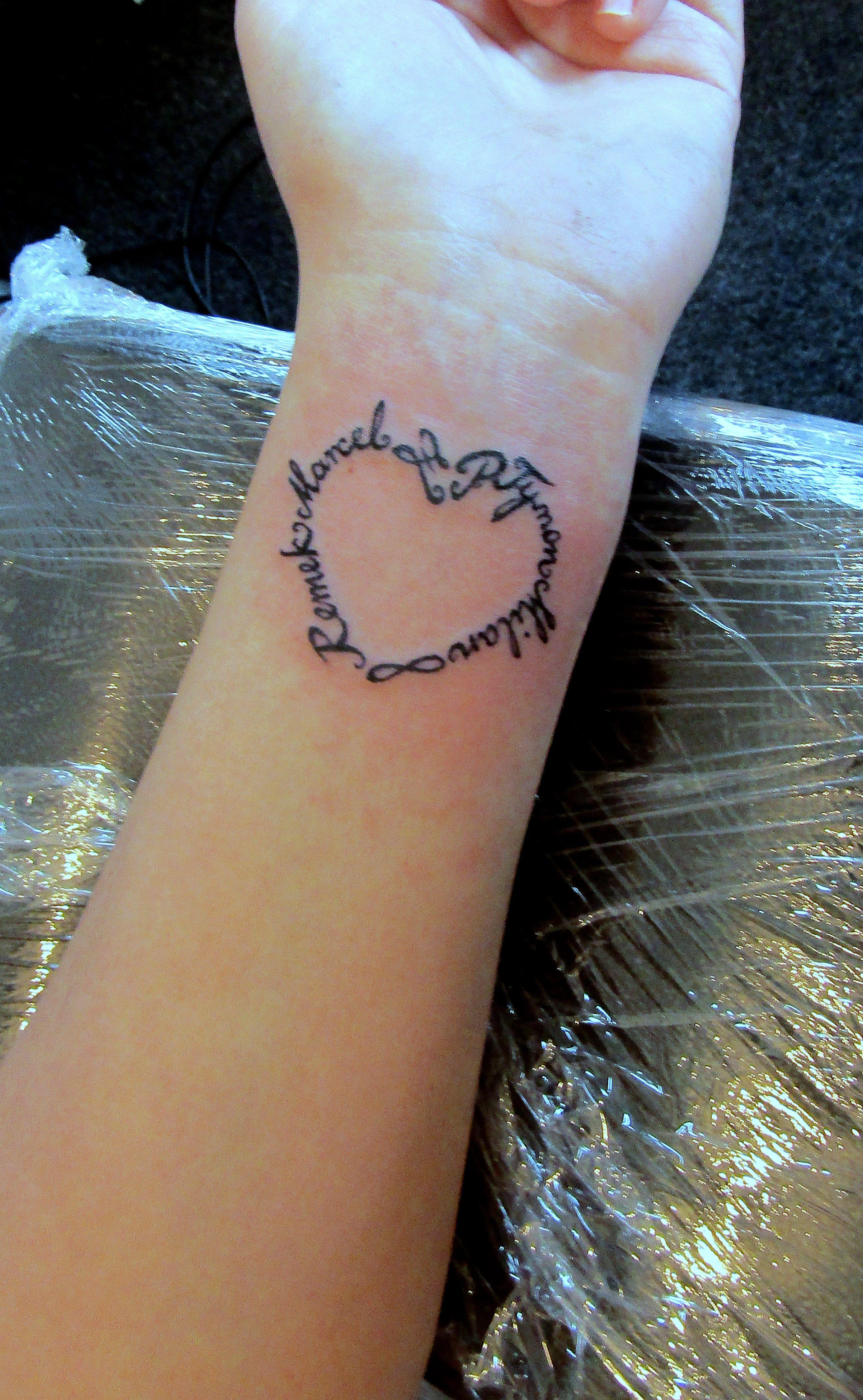 Childrens Names Tattoos For Women: Children Names Tattoo