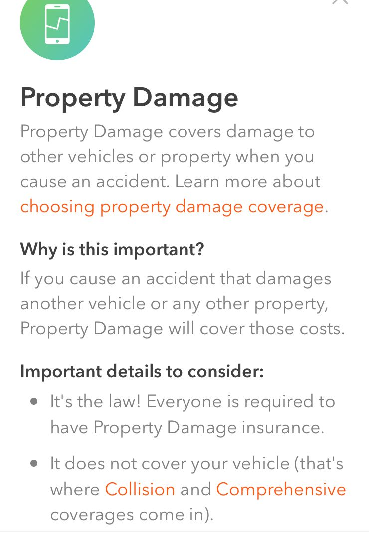They Even Cover Property Damage Even If It S Unfortunately Your