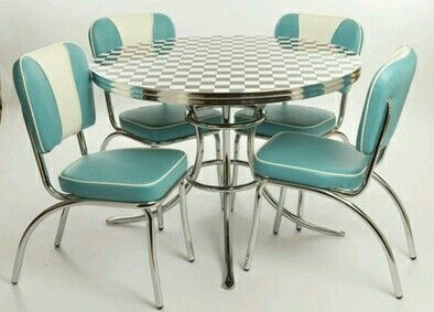Kitchen Table Chairs Of The 50s