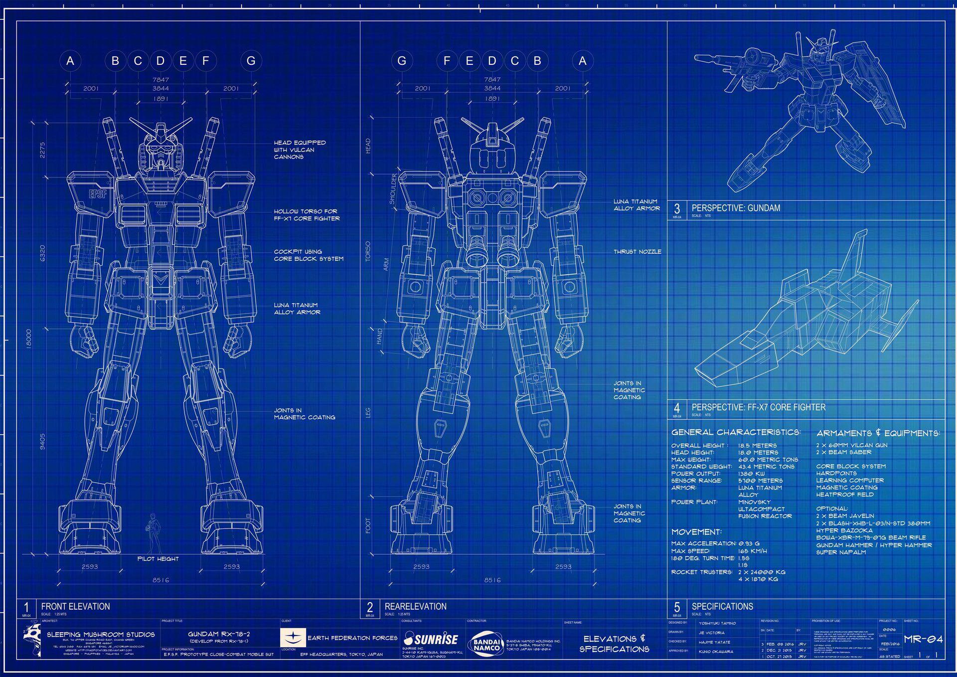 Gundam rx 78 2 blueprint anime pinterest gundam and anime gundam rx 78 2 blueprint malvernweather Image collections