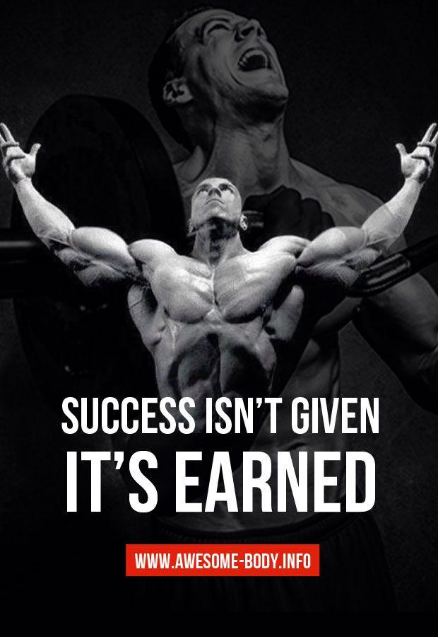 Bon Success Bodybuilding Quotes