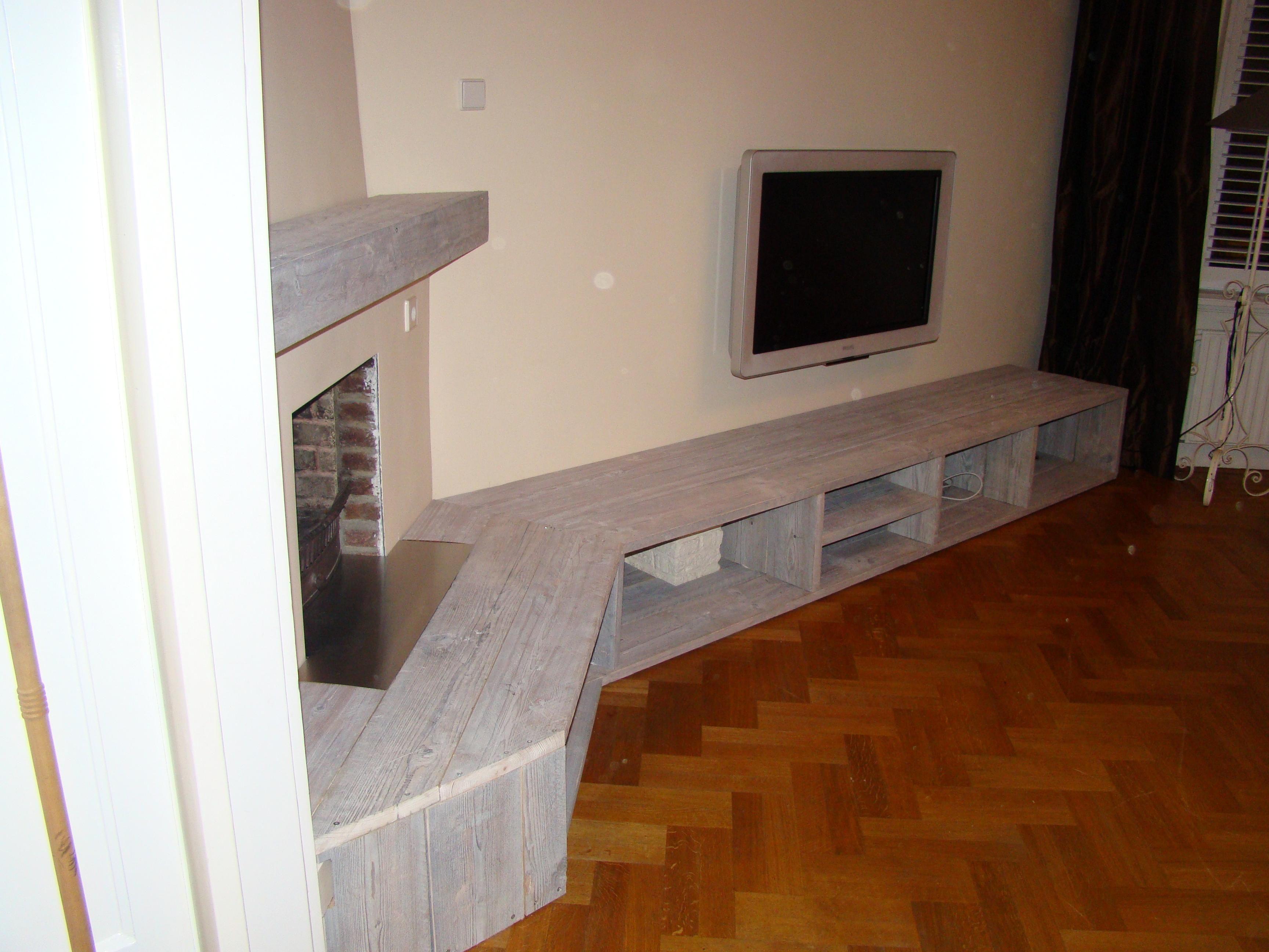 tv meubel steigerhout - Google zoeken | Inrichting woonkamer ...