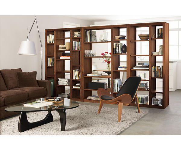 Room Divider For Bat Guest Hangout Lounge Woodwind 72h Open Back Bookcases Shelves Office Board Roomdivider