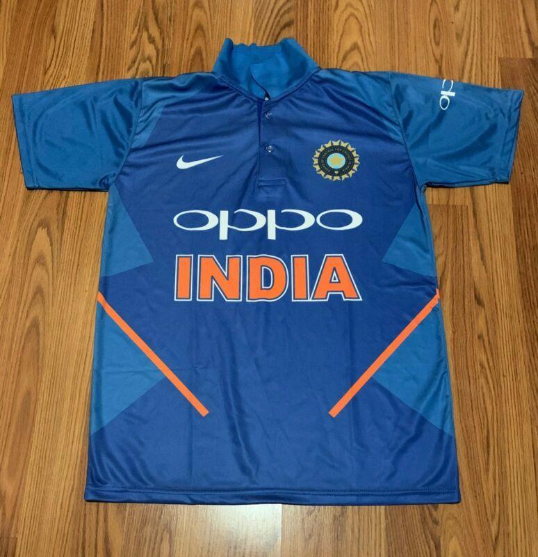 Indian 2019 World Cup Cricket Team Jersey Shirt Dri Fit Size S M L Xl Cricket Teams Cricket T Shirt Cricket Store