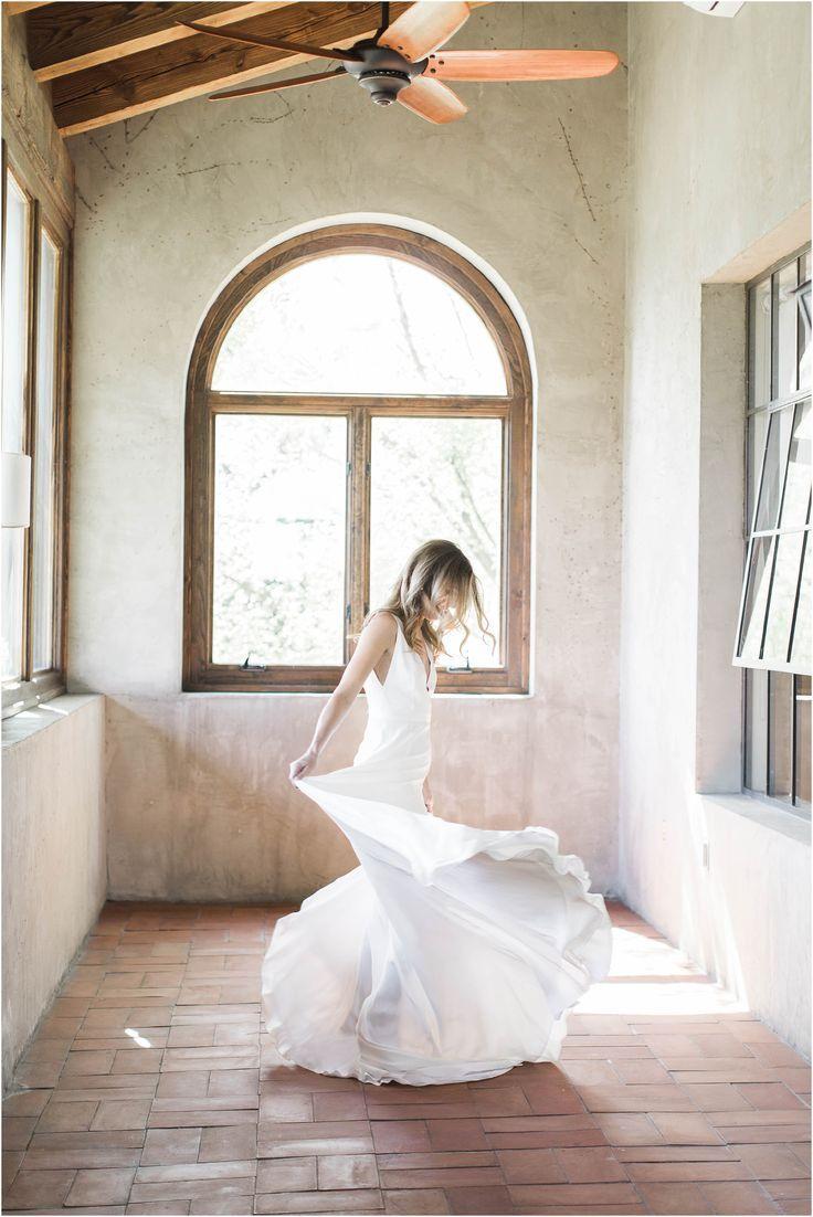 Atlanta Summerour Studio Wedding | Mediterranean Meets Modern Venue #bridalportraitposes