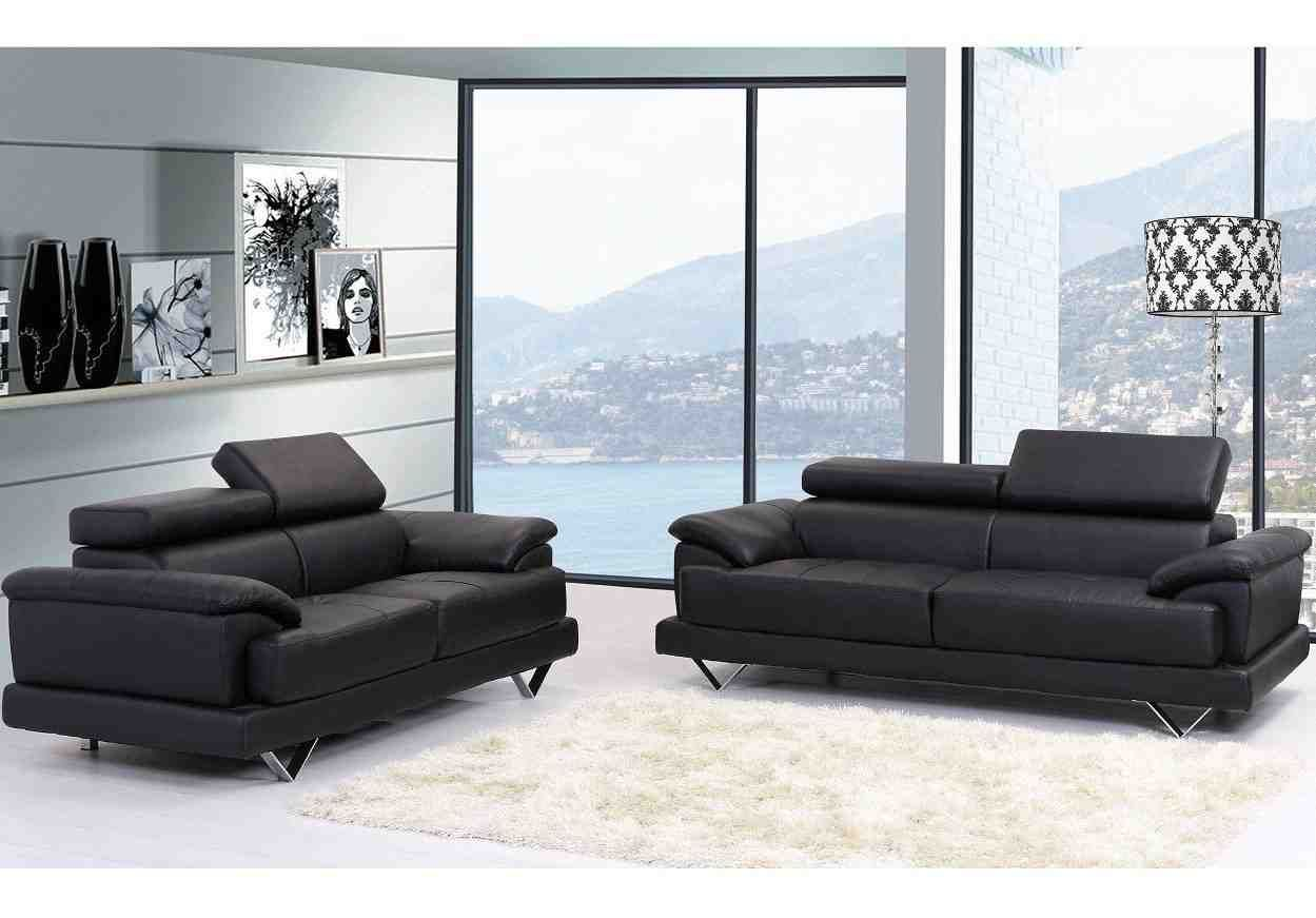 2 Seater Sofa Leather Loveseat