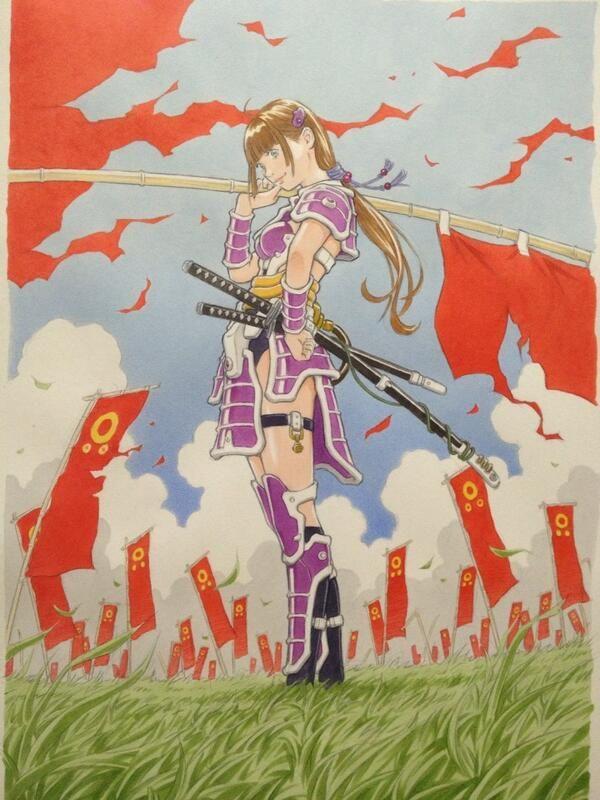 Twitter : @EISAKUSAKU : 『SAMURAI・GIRL改』