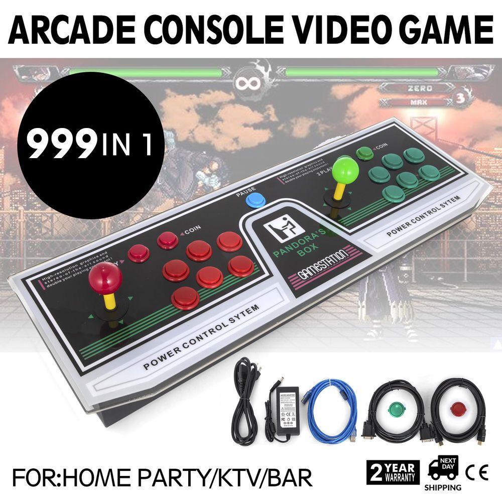 999 IN 1 Pandora's Box 5S Arcade Game Console Auto Back