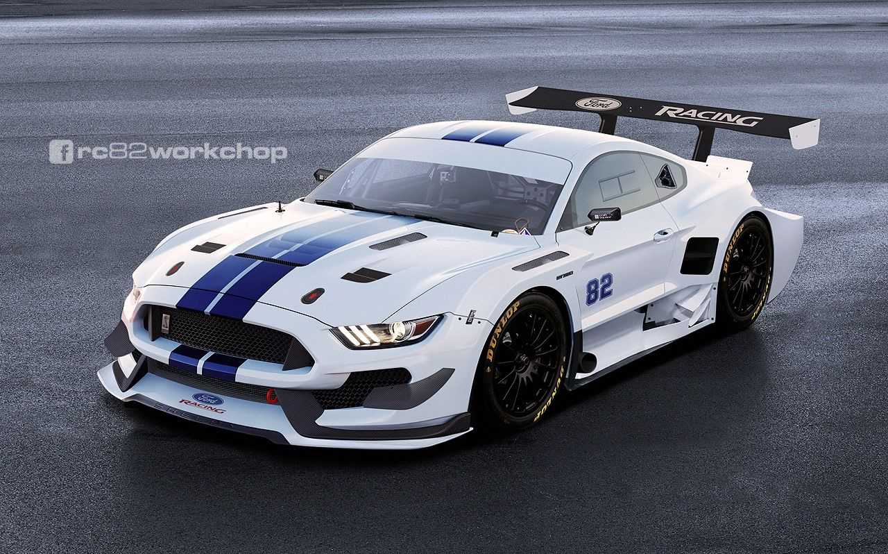 Ford mustang gt 350 widebody ford mustang motorsport