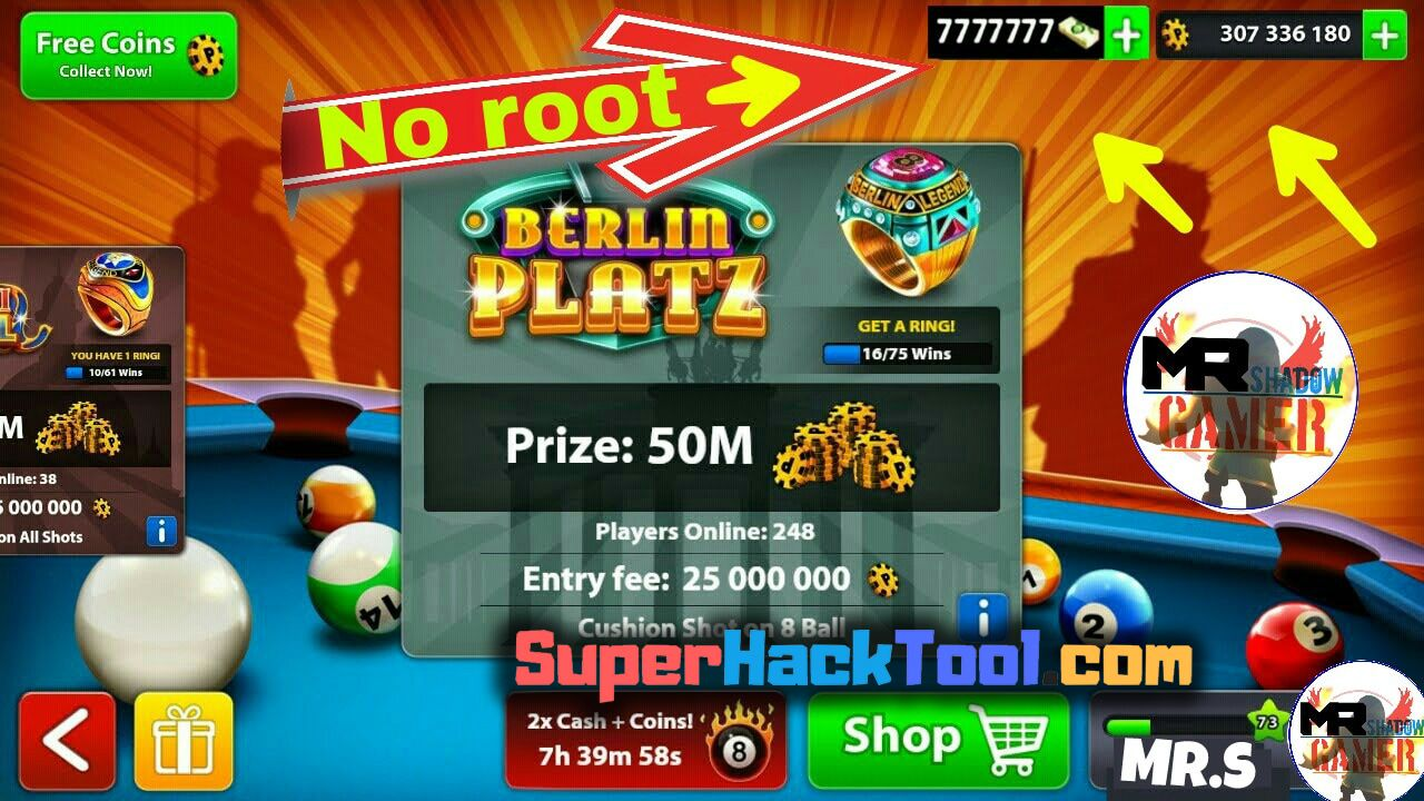 8 Ball Pool Generator App 8 ball pool hack - free cash and coins live proof 8 ball