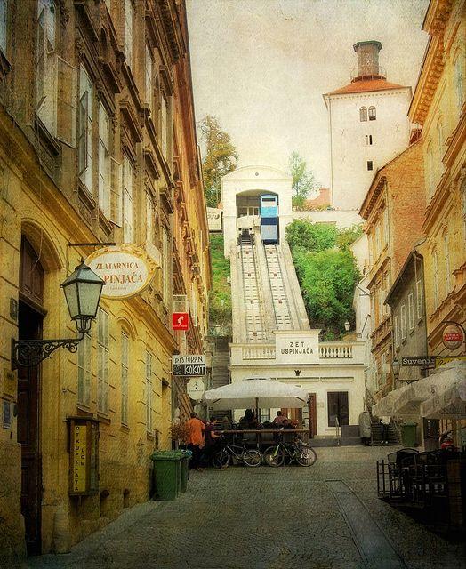 From Lower To Upper Town Zagreb Croatia Croatia Zagreb