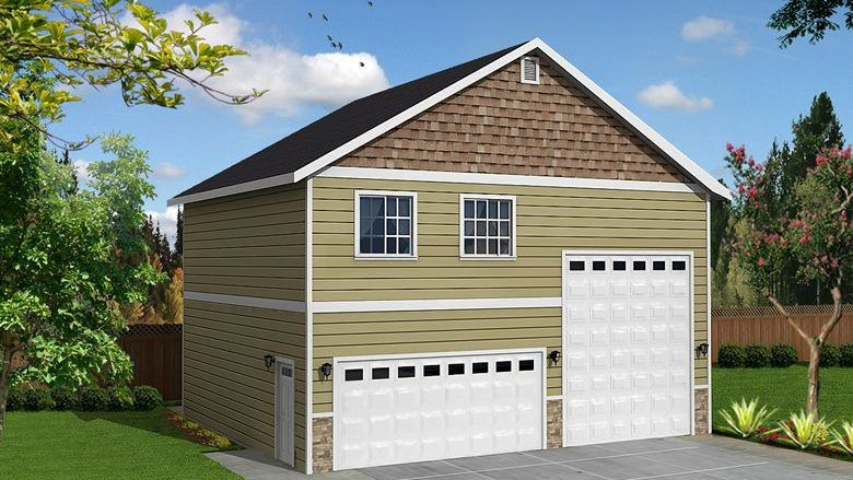 34 X 30 Sq Ft Rv Garage Garage With Living Quarters Best Home Plans House Plans