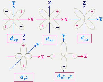 Angular Probability Distribution Of D Orbital Diagram Online Study Chemistry Physical Chemistry