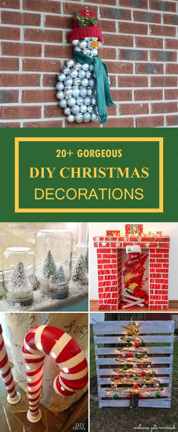 20 gorgeous christmas decorations you can make yourself - Christmas Decorations To Make Yourself