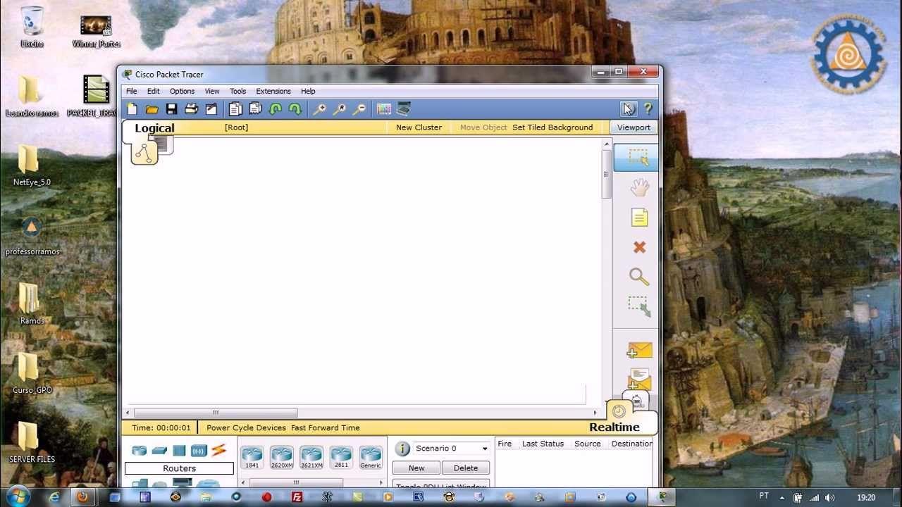 Packet Tracer CISCO CCNA - Aula 4 - Servidor WEB e DNS - www