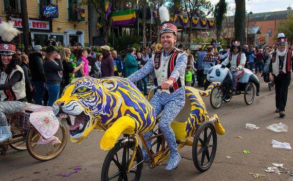 Tiger Art Bike Parade Float by Kolossos on Etsy | Bike parade ...