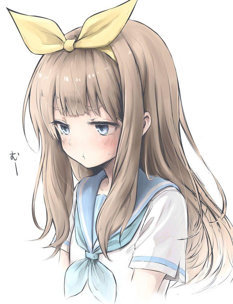 Manga fille triste manga girl sad manga anim dessin - Image de manga triste ...