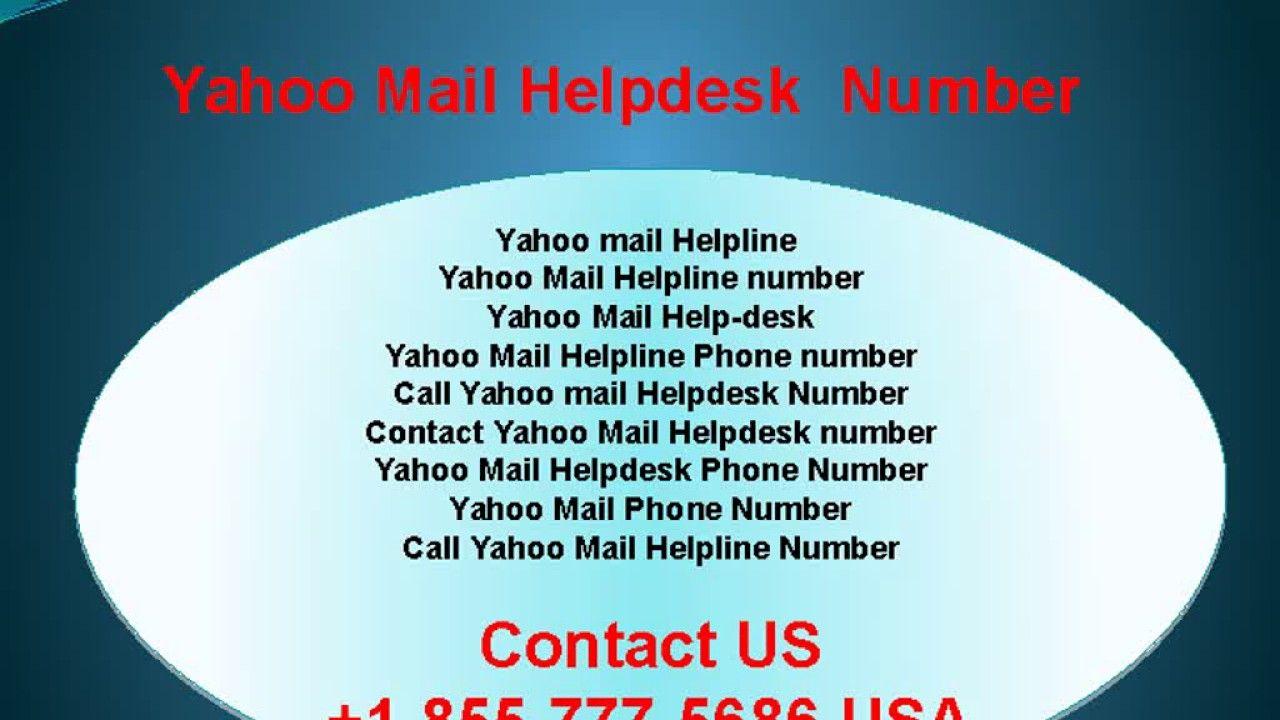 Call On Yahoo Mail Helpline Toll Free Number 1 855 777