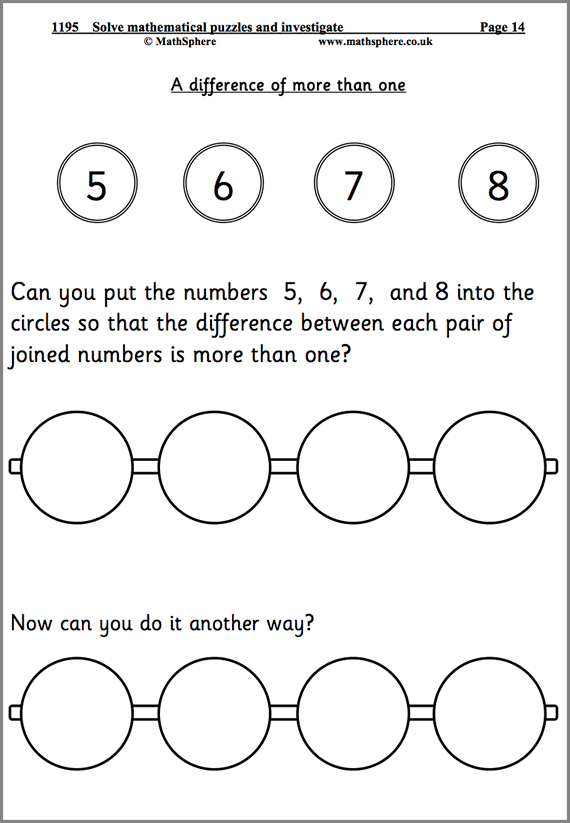 Solve Problems Maths Worksheets | Super Maths | Pinterest | Math ...