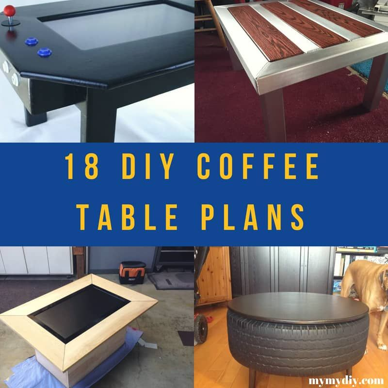 Pin on DIY Coffee Table Plans