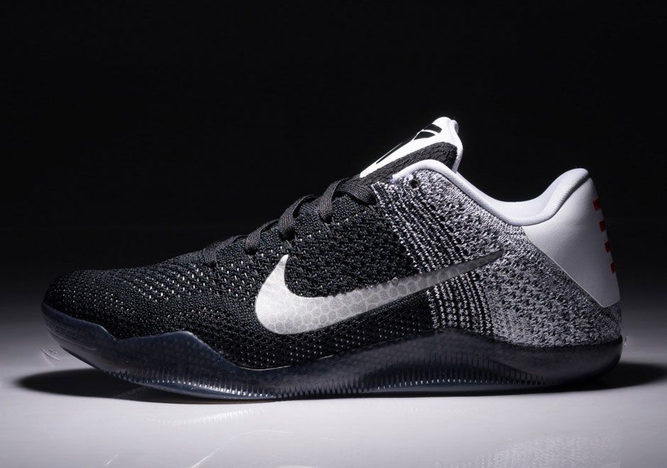 a05ea3f99167 First Look    Nike Kobe 11 Black White