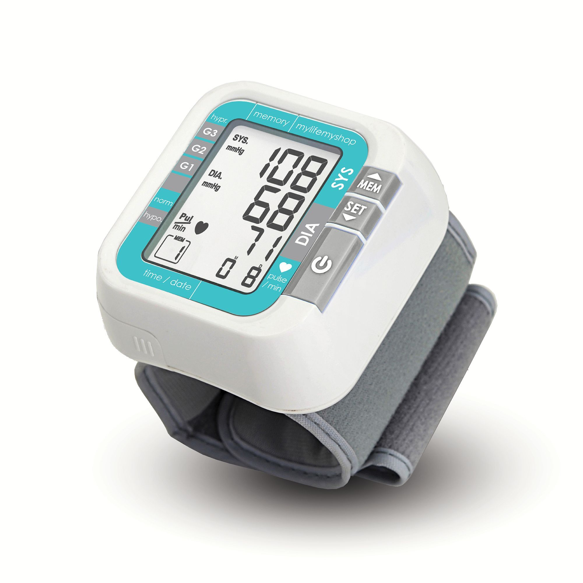 My Life My Shop Cor1 Blood Pressure Monitor (White)