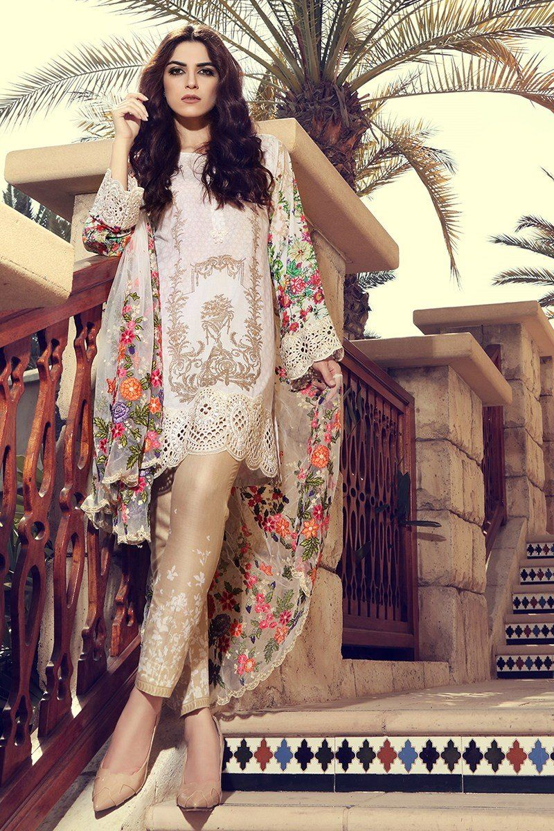 619b02f1ab Maria B Lawn Collection 2017-2018 Best Pakistani Designer Summer Dresses  (25)