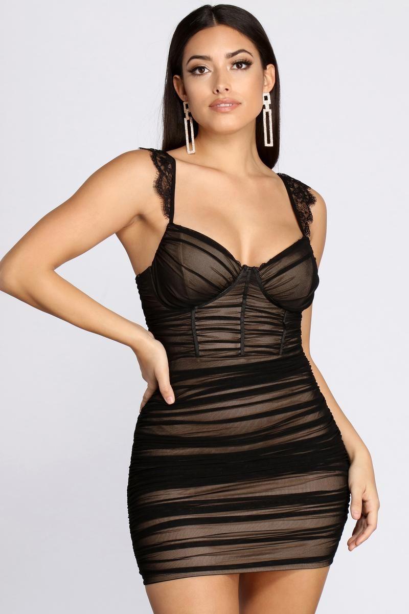 23+ Sheer mini dress ideas