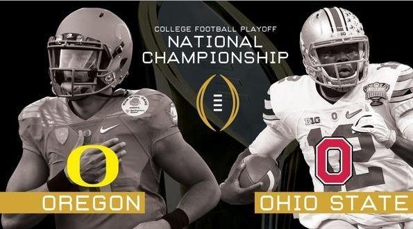 Watch Cfp Championship 2015 Playoffs Ohio State Vs Oregon
