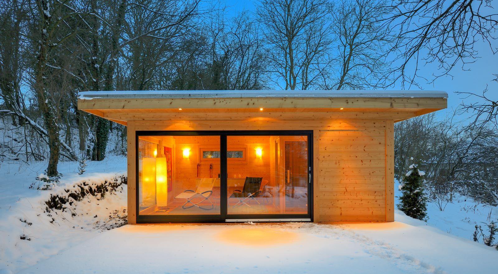 Die Sauna Bring Die Wellness Oase In Die Eigenen Vier Wände. Ein Kleiner  Spa Bereich Zuhause ...