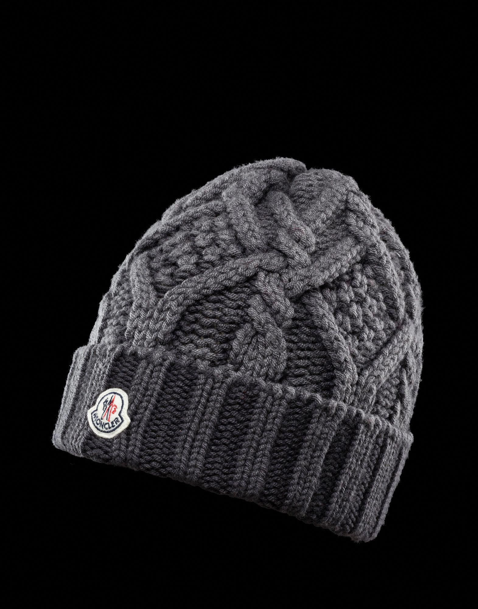 3d97af29adc MONCLER Men - Fall Winter 12 - ACCESSORIES - Hat -  YooxWomenSDresses